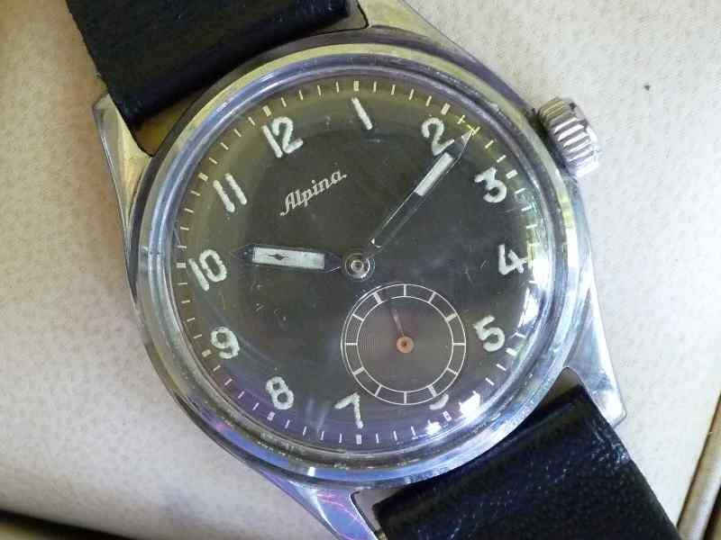 Alpina Black Dial