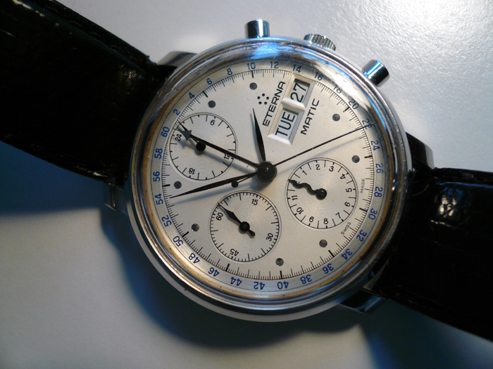 Tissot Day Date Chronograph Chronograph Day-date