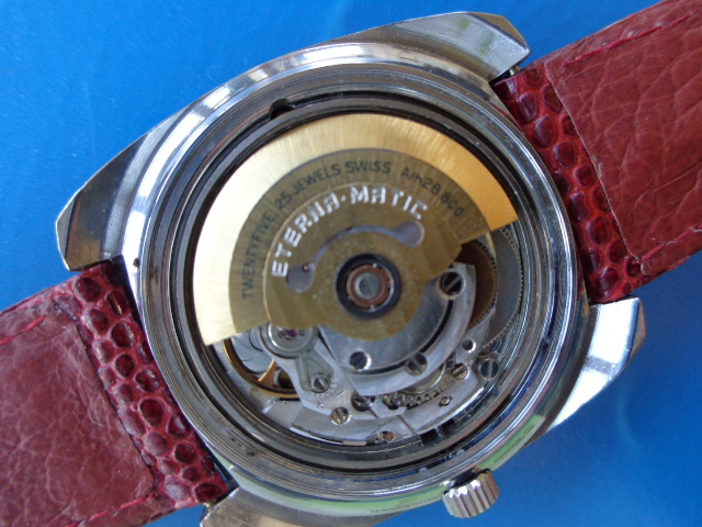 Eterna-Matic Red Dial