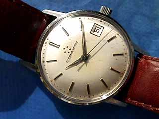 "Steel & Gold ETERNA-MATIC 2000 ""Centenaire 71"" Automatic Wrist Watch"