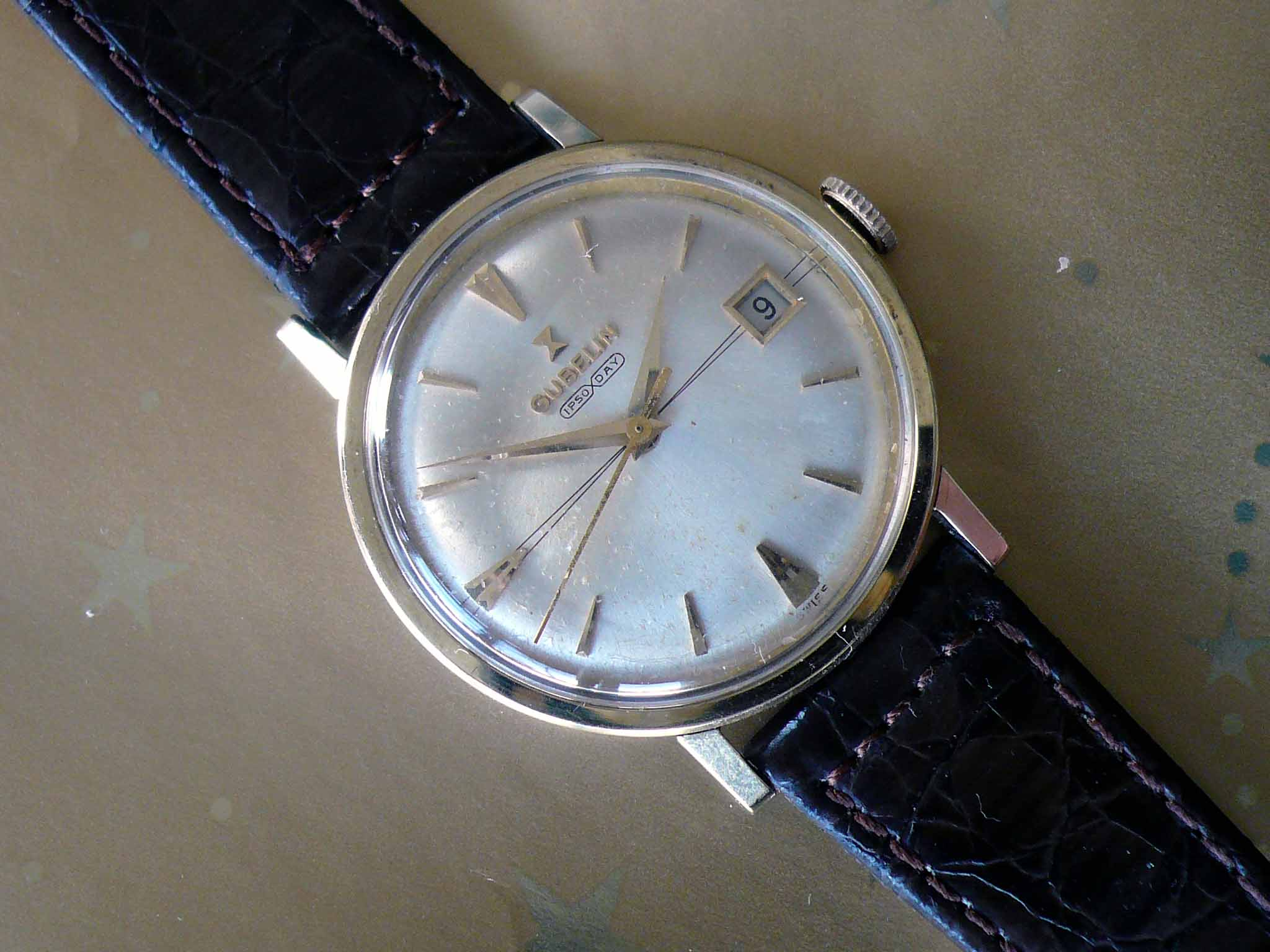 Peter Irniger 's Vintage Watches: Gubelin Ipso-Day Automatic