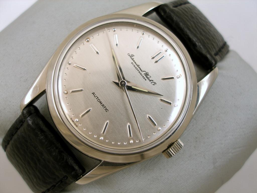 Peter Irniger 's Vintage Watches: IWC SS Calatrava Style Auto