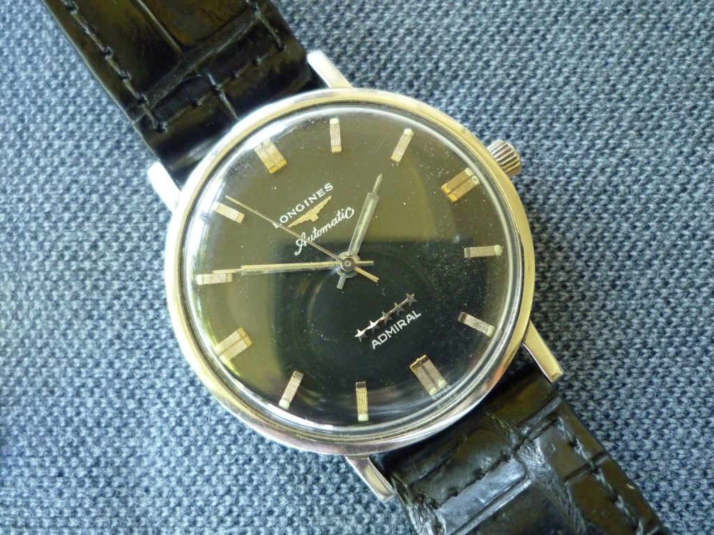 Longines Admiral Black Dial