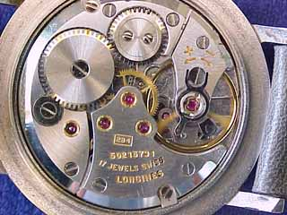 Longines SS Manual Movement