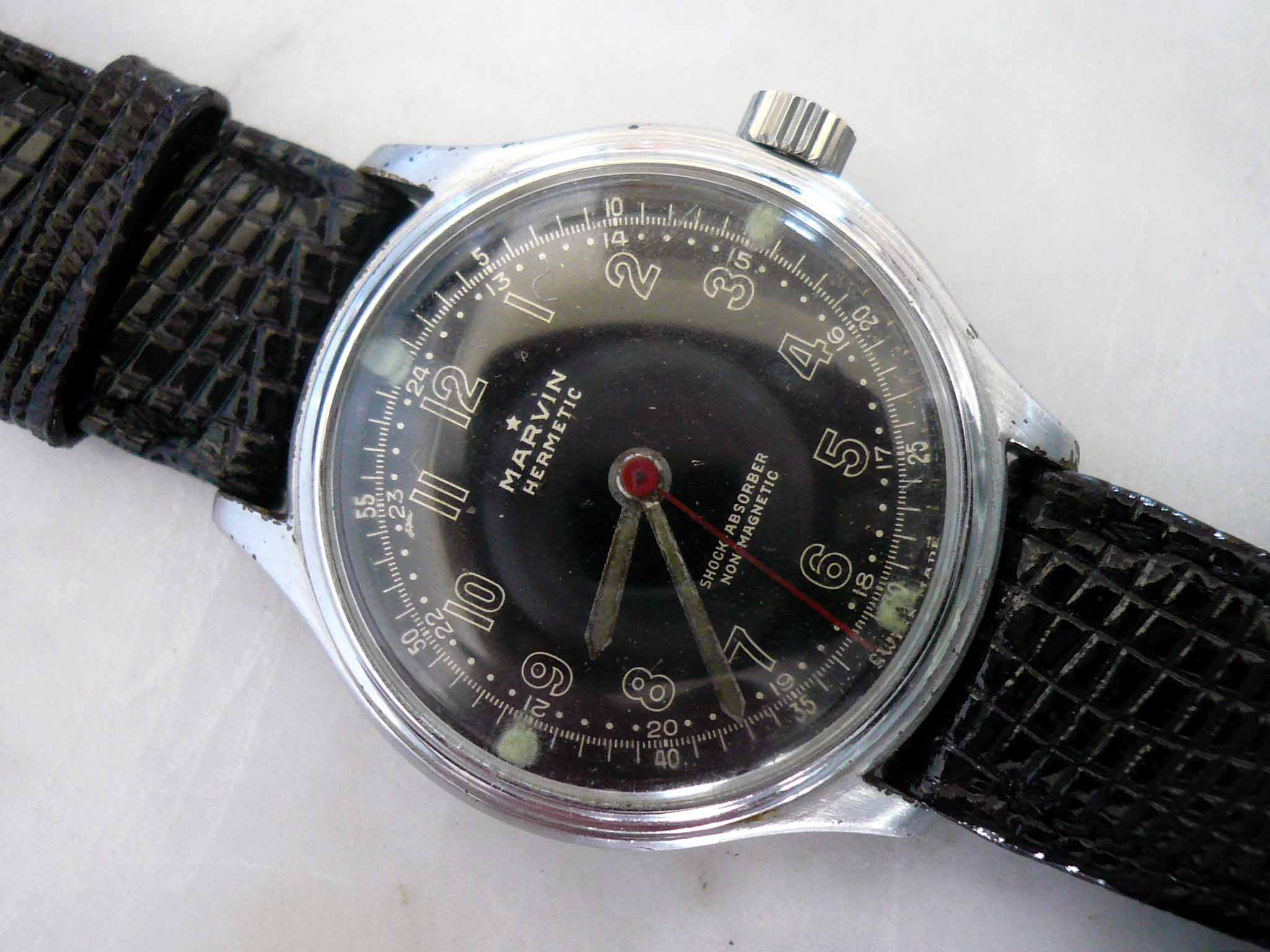 Marvin Black Dial