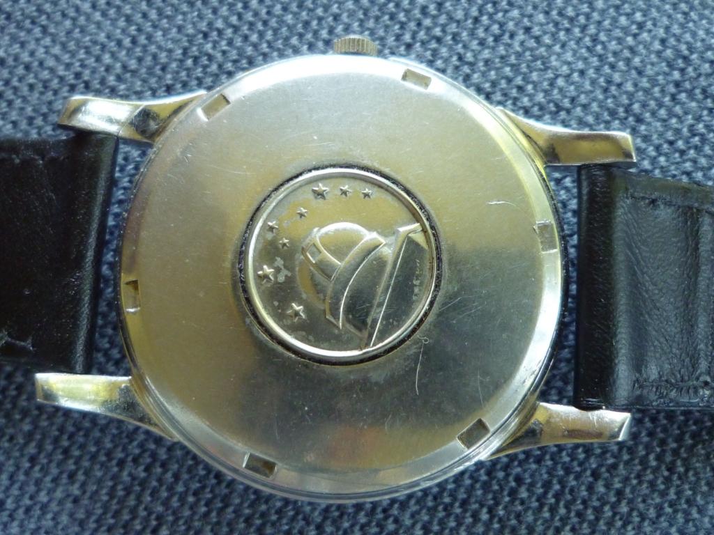 Omega Constellation Pie Pan Black Dial Back