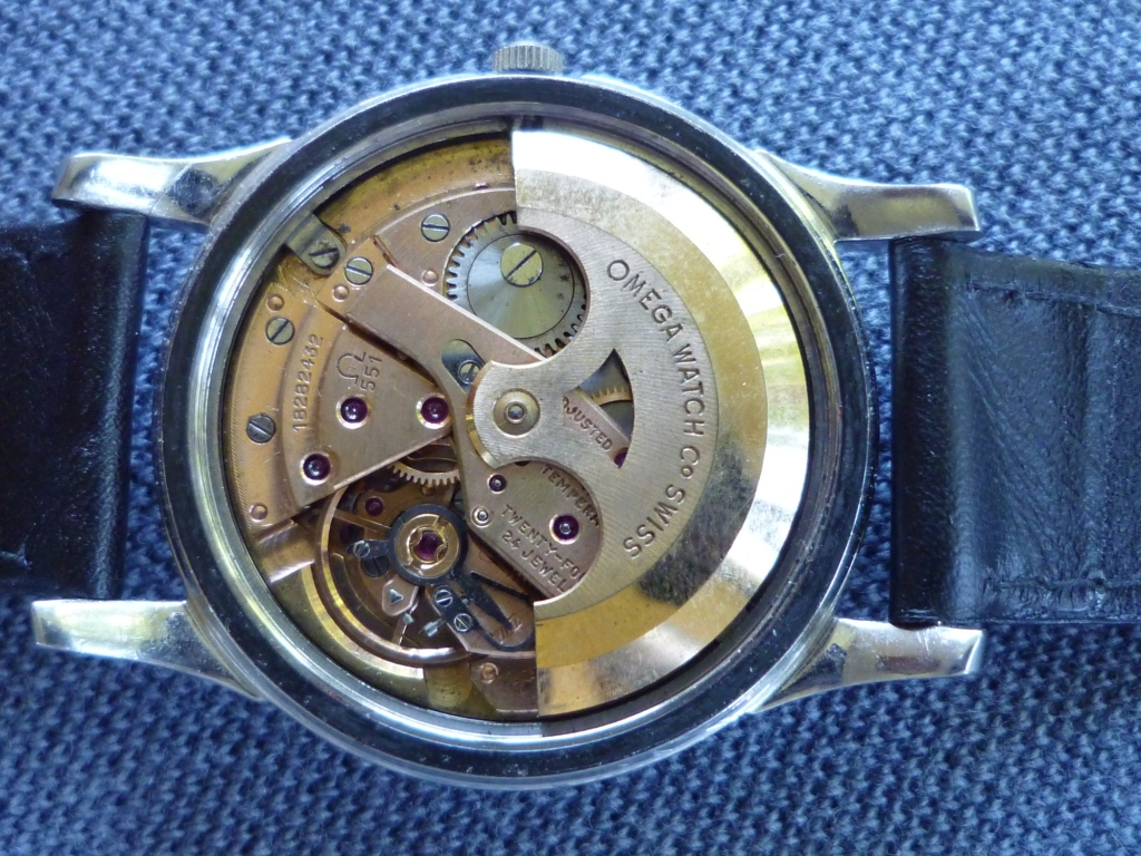 Omega Constellation Pie Pan Black Dial Movement