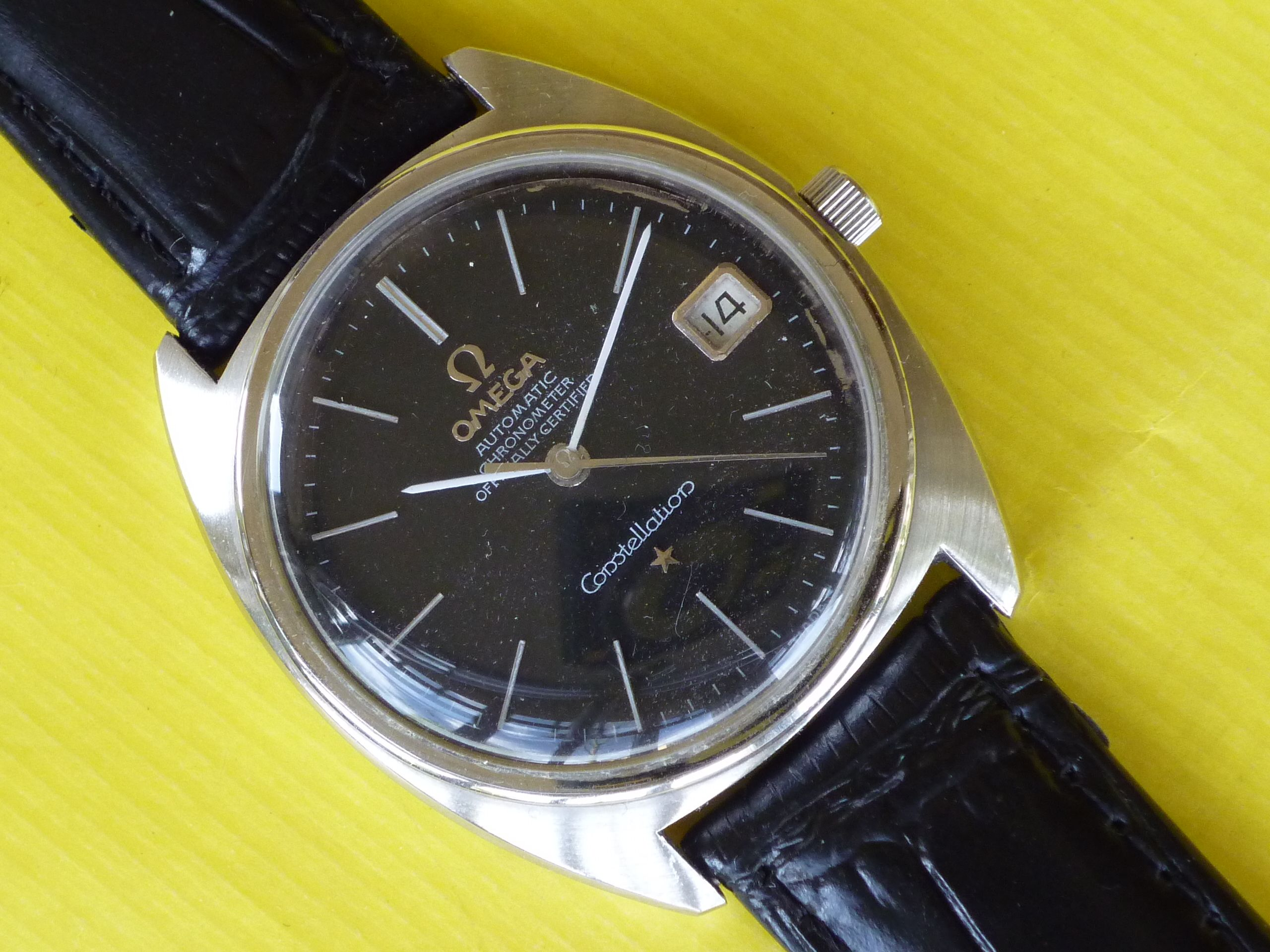 Omega Constellation Black Dial