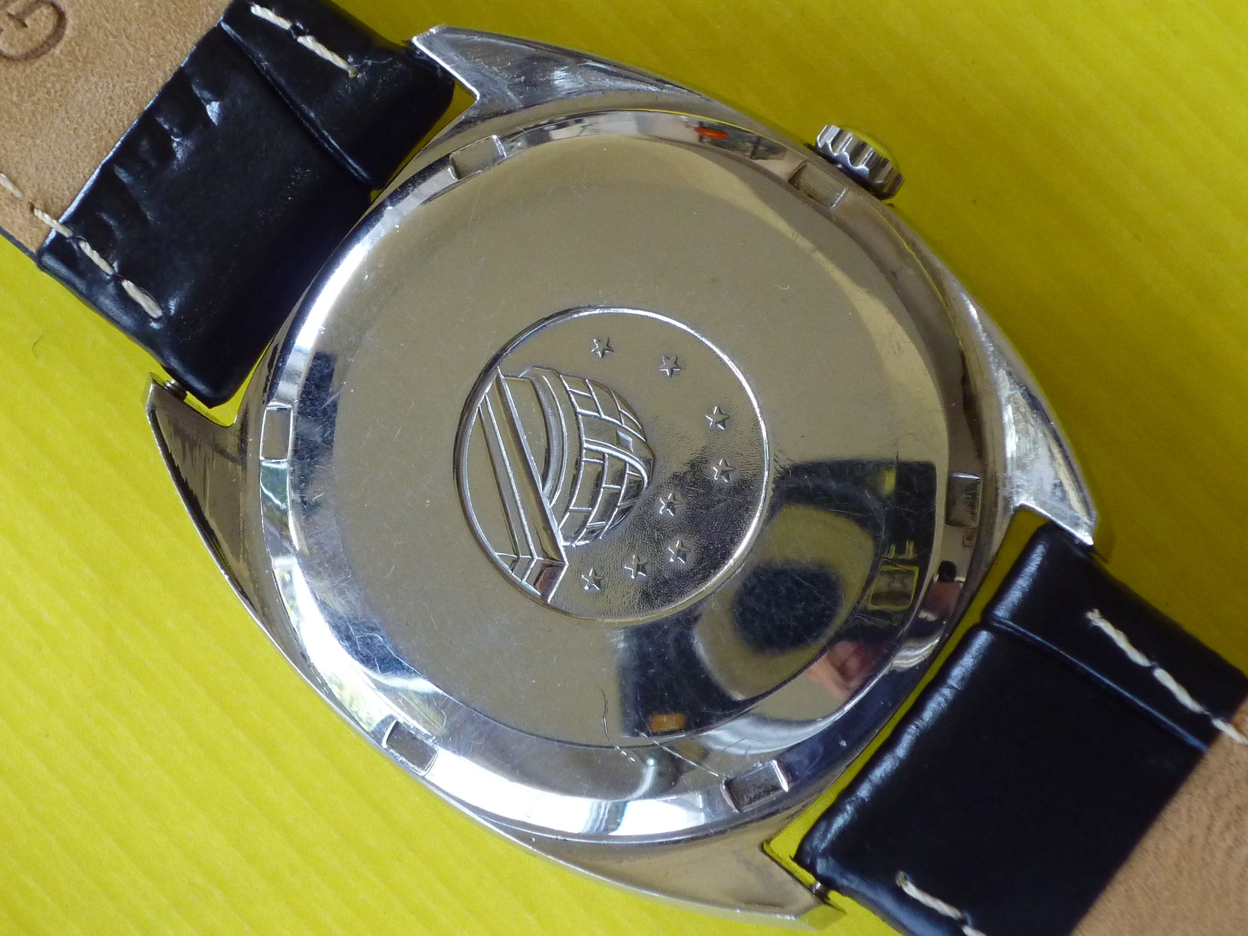 Omega Constellation Staniless Steel Back