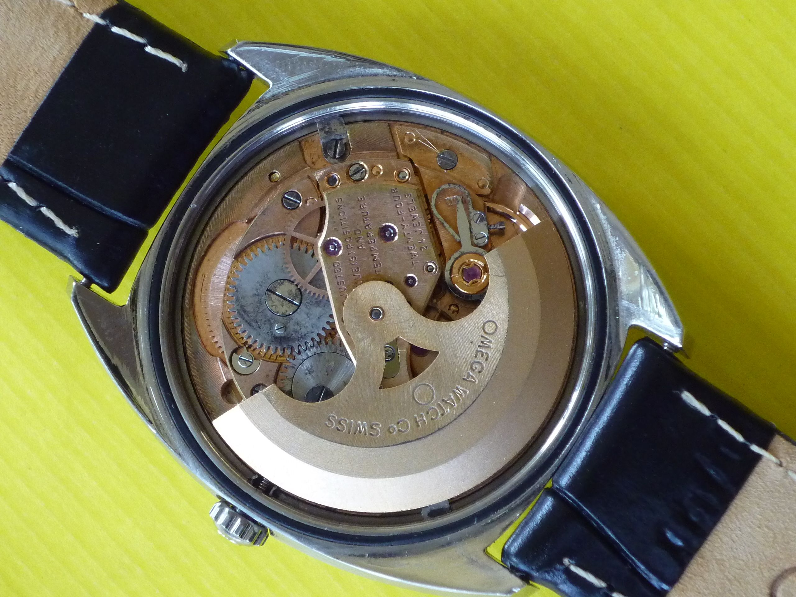 Omega Constellation Staniless Steel Movement