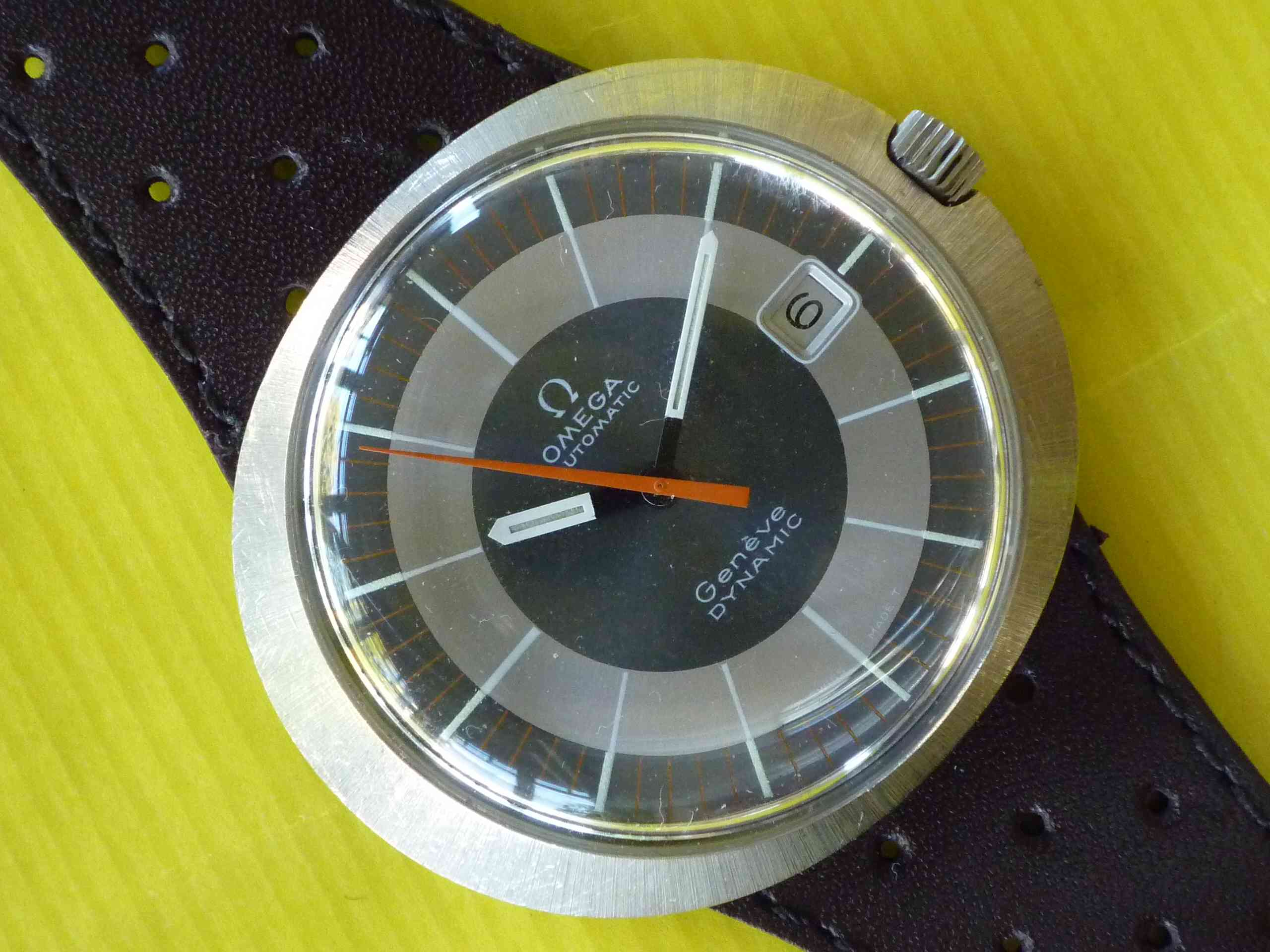 Omega Geneve Dynamic Automatic SS