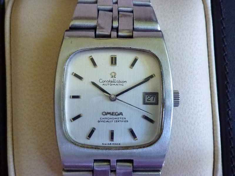 Omega Constellation SS Square