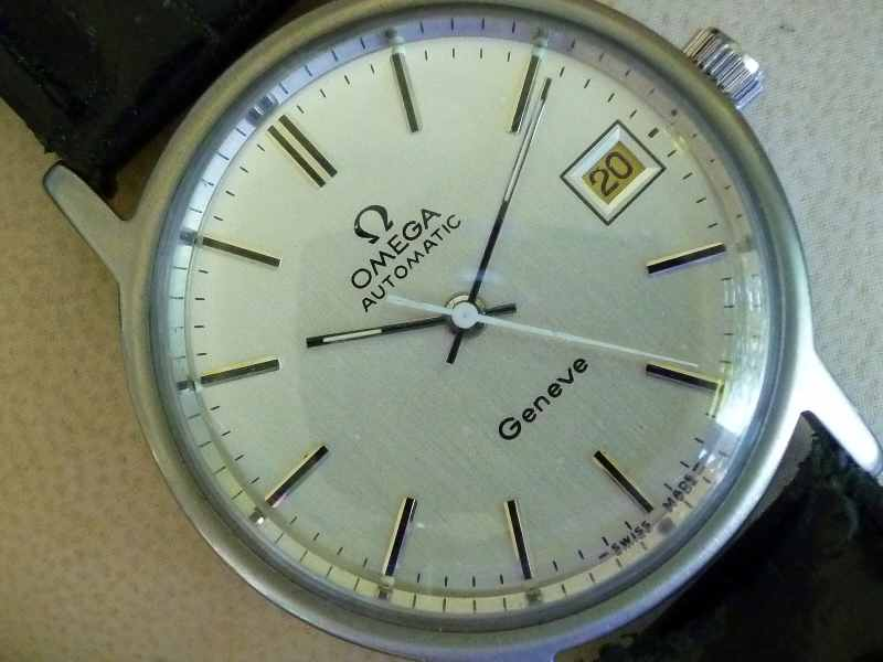 Omega Geneve Stainless Steel Automatic
