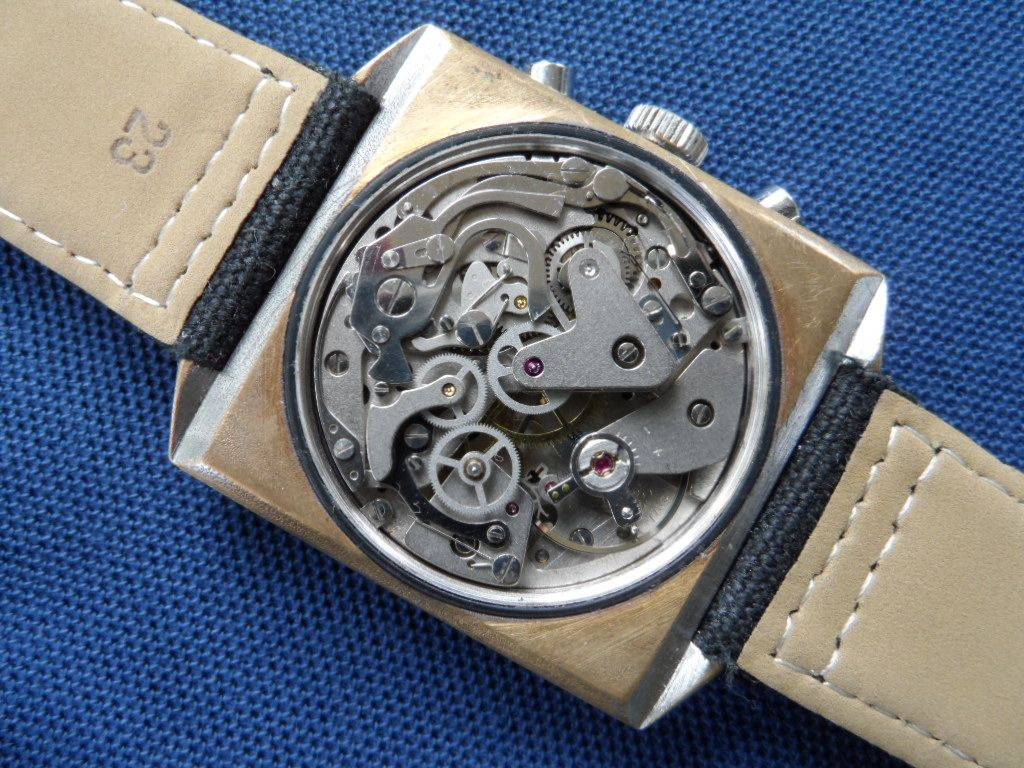 Rotary SS Chronograph