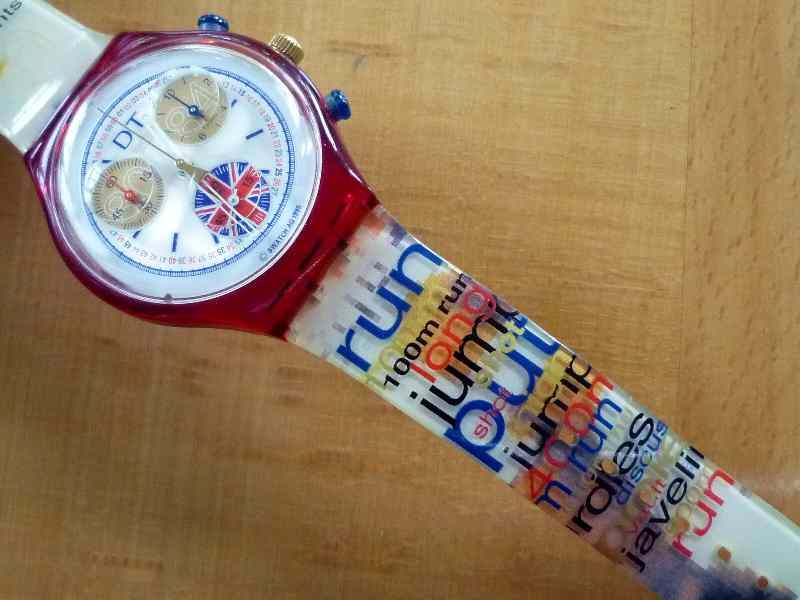 Swatch Daley Thompson Chronograph