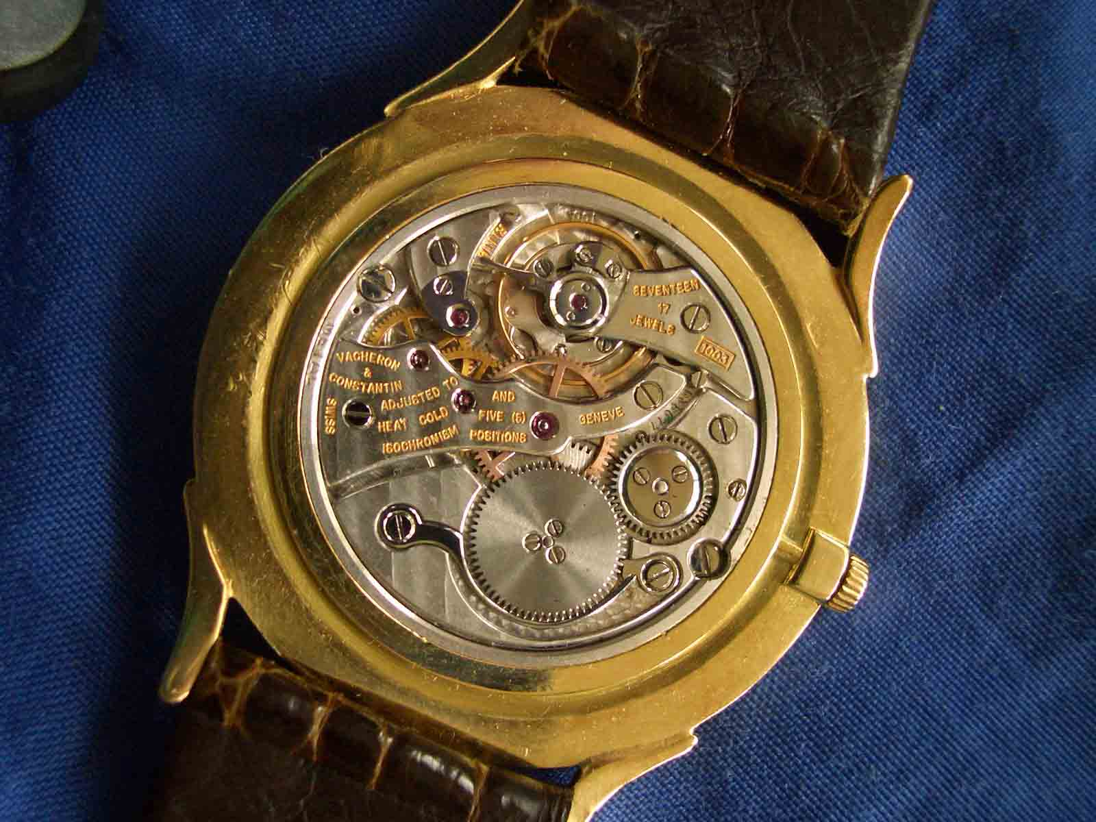Vacheron Flat Movement