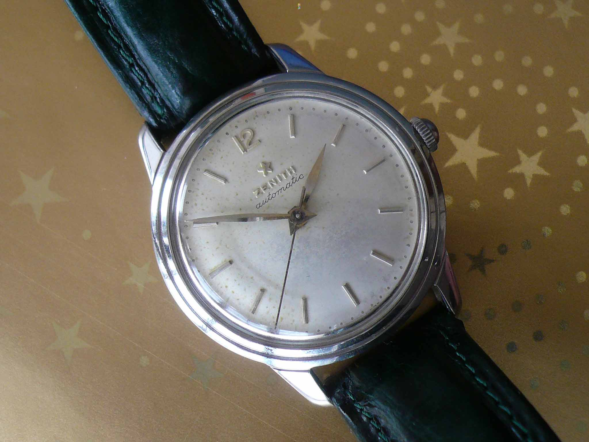 Zenith Bumper Automatic Stainless Steel