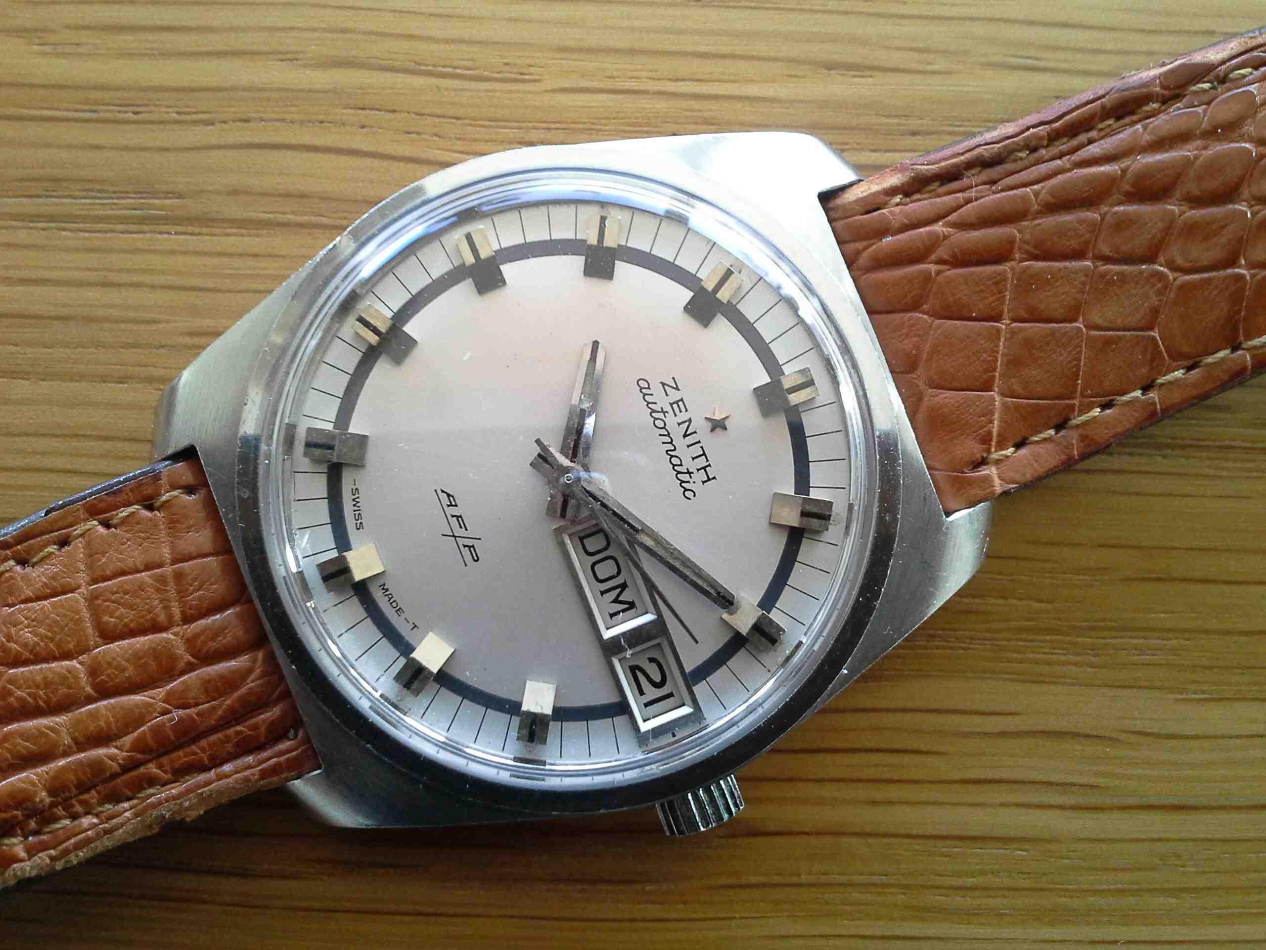 Zenith SS Day Date Auto