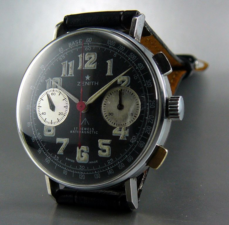 Zenith Chrono Black Dial