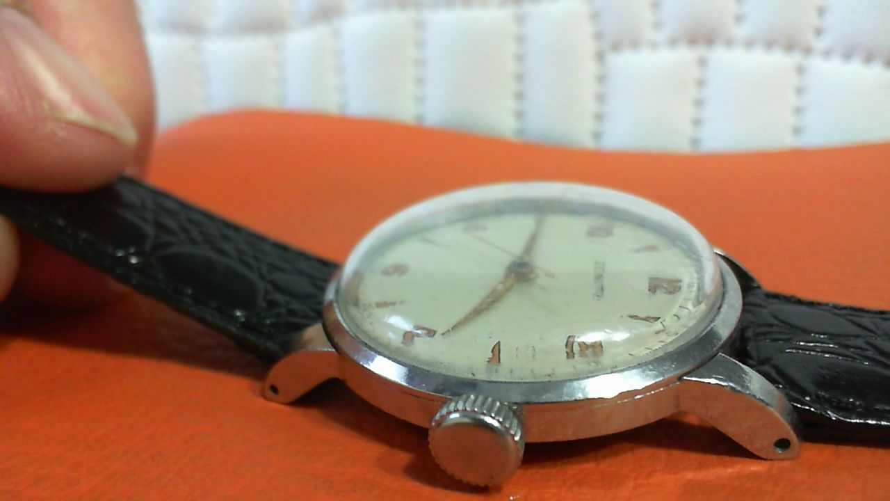 Zenith Stainless Steel Manual Wind